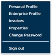 Image: Membership options on login