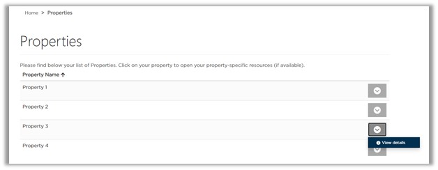 Image: Viewing property details