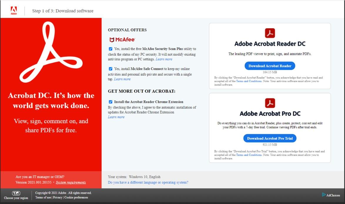 Image: Adobe Acrobat Reader DC