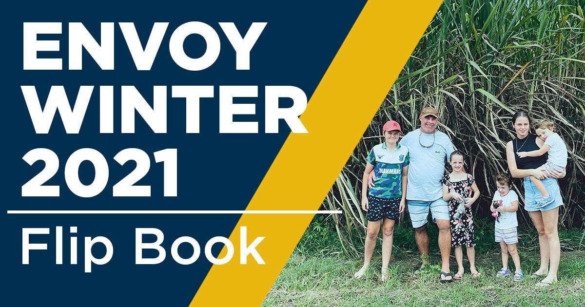 Envoy winter 2021 - Membership annual edition flip book