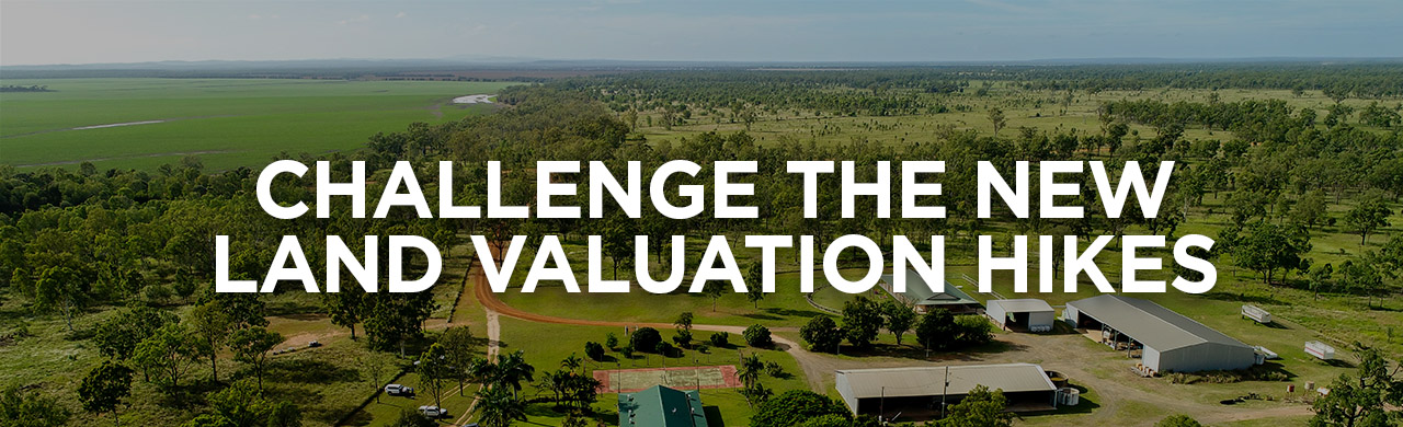 Challenge the new land valuations